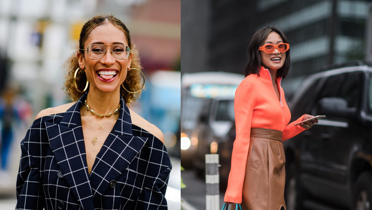 15 Best Eyewear Street Style From New York Fashion Week 2018 S19 Eyewear Sunglasses Glasses