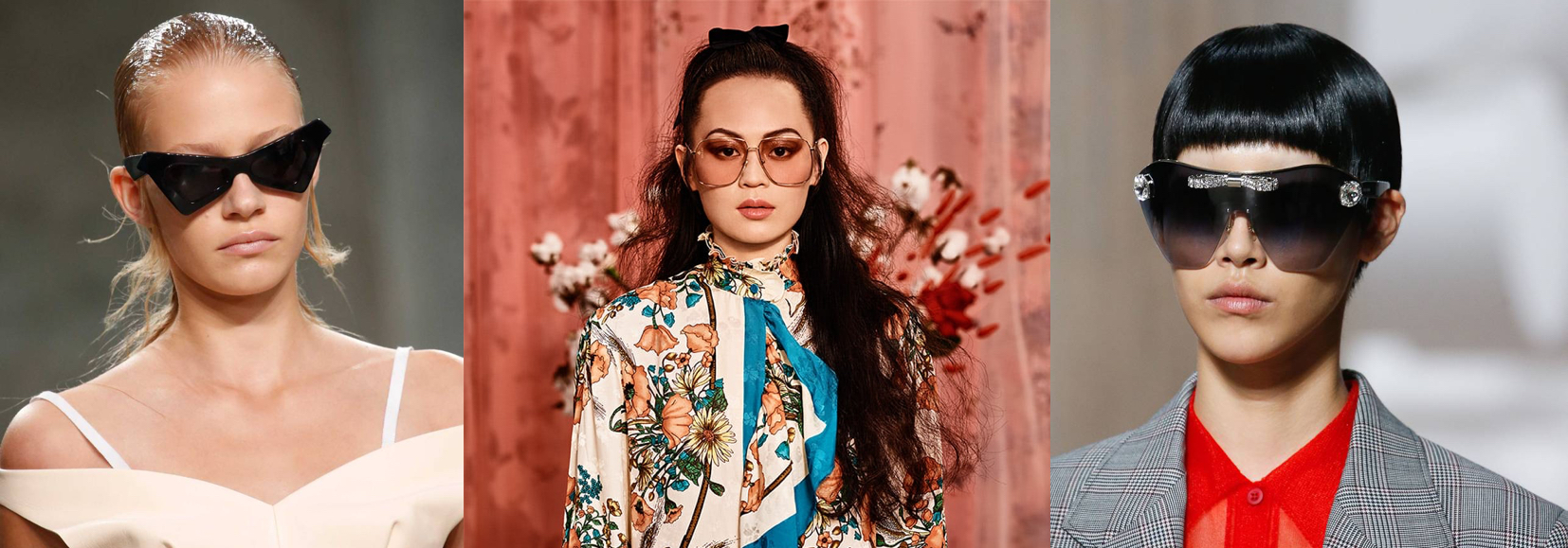 Cateye Our Prediction of 2019 Eyewear Trends Glasses Sunglasses Eyewear Shop Online 70s Big Square