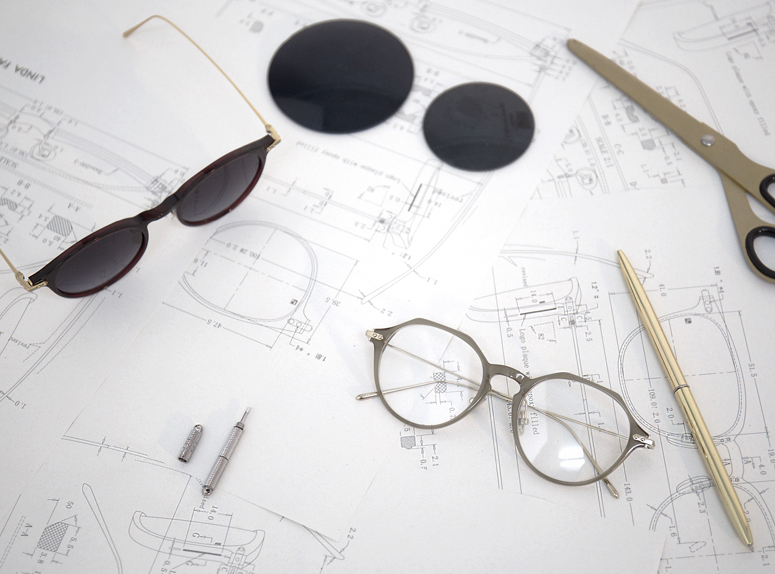 Linda Farrows first Linear Eyewear collection for 2019