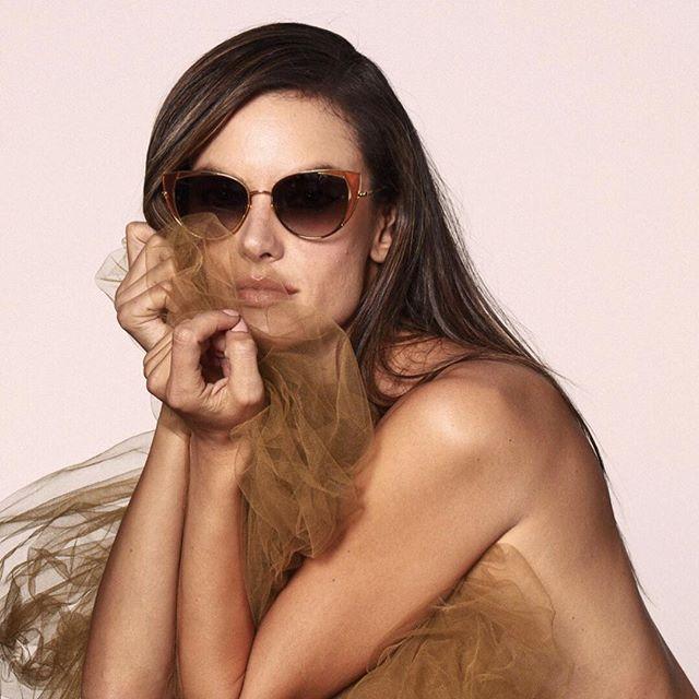 Linda Farrow Ss19 Campaign Featuring Alessandra Ambrosio