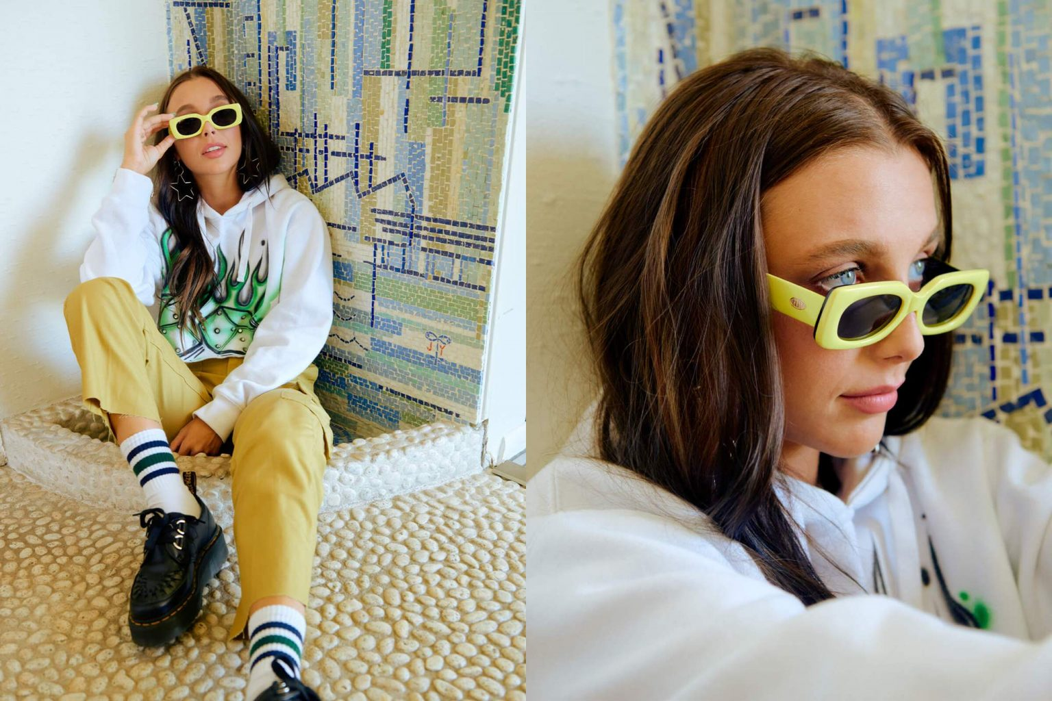 Emma Chamberlain x Crap® Eyewear
