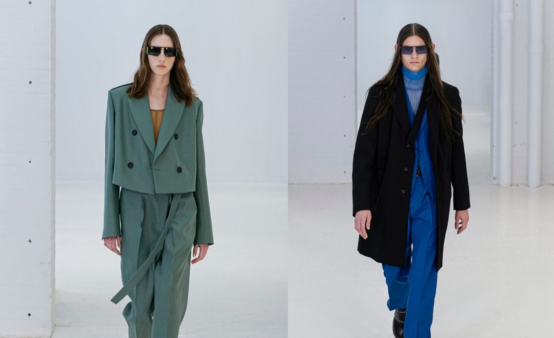 MYKITA x Helmut Lang's Deconstructed Eyewear Proposition for Spring 2020
