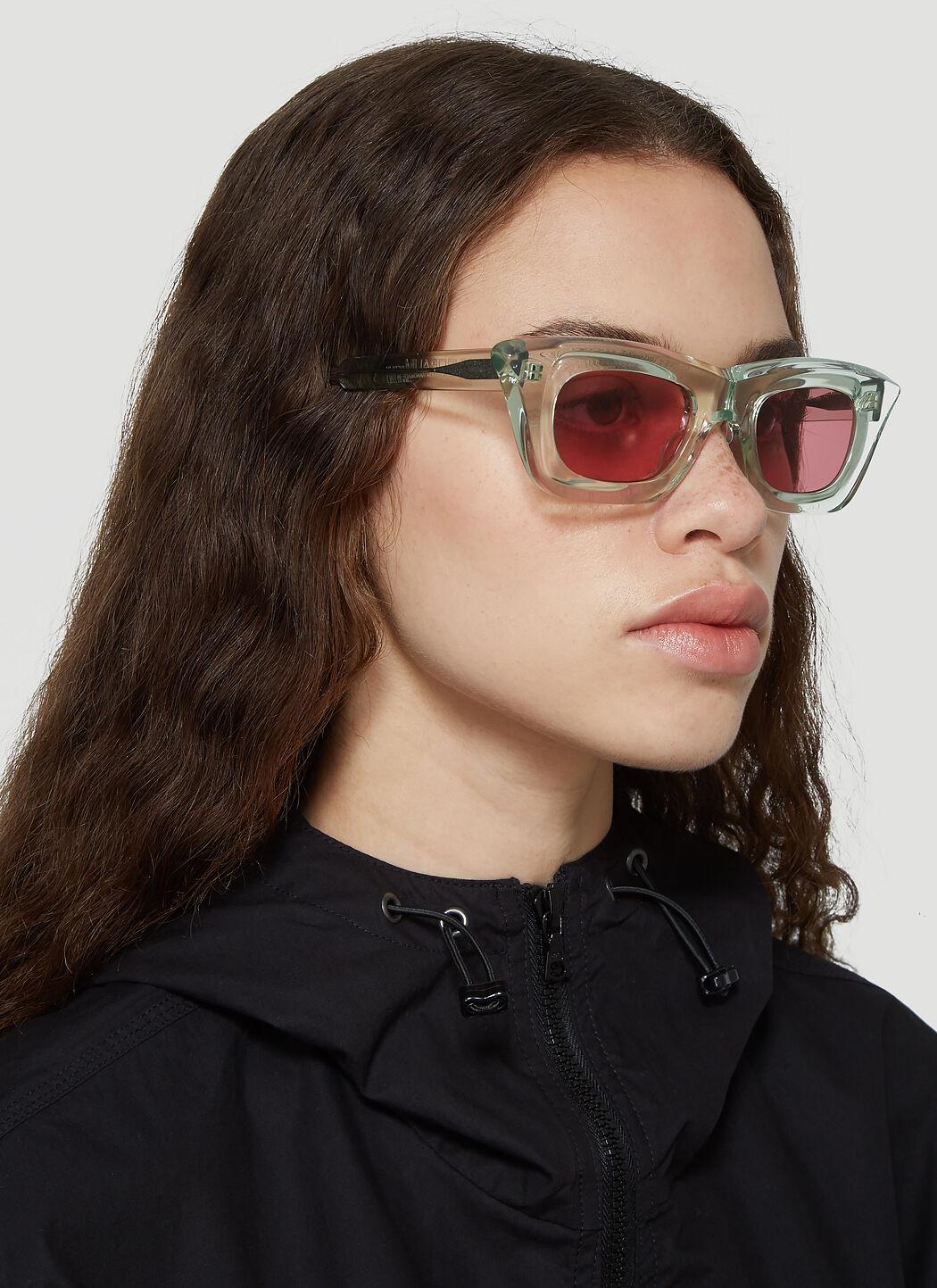 REWOP MILANO Tinted Coloured Lenses Sunglasses Tinted Sunglasses Trend Le Specs Karen Walker KUBORAUM BERLIN buy shop online rainbow trend 2020 sunglasses fashion runway shopping