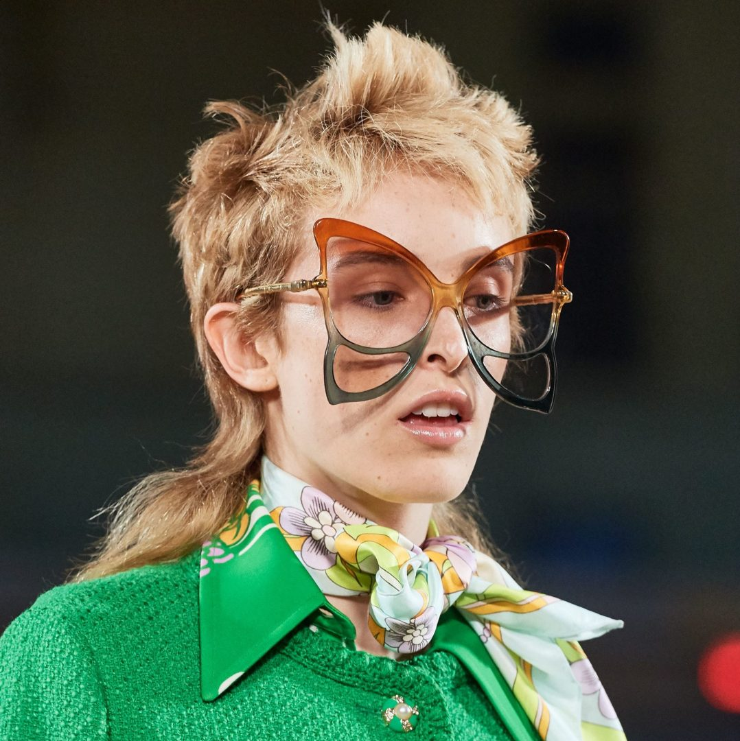 anna sui marc jacobs Sunglasses Trend Spotted at Spring 20 Runway - Follow the Rainbow sunglasses eyewear trend 2020