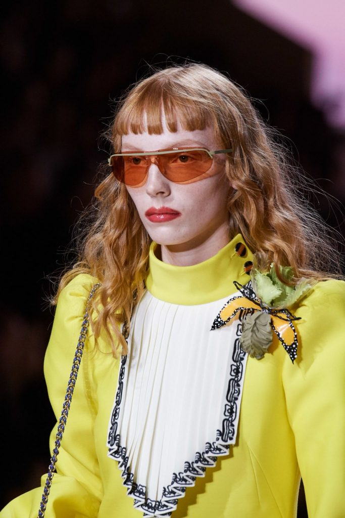 marc jacobs Sunglasses Trend Spotted at Spring 20 Runway - Follow the Rainbow sunglasses eyewear trend 2020