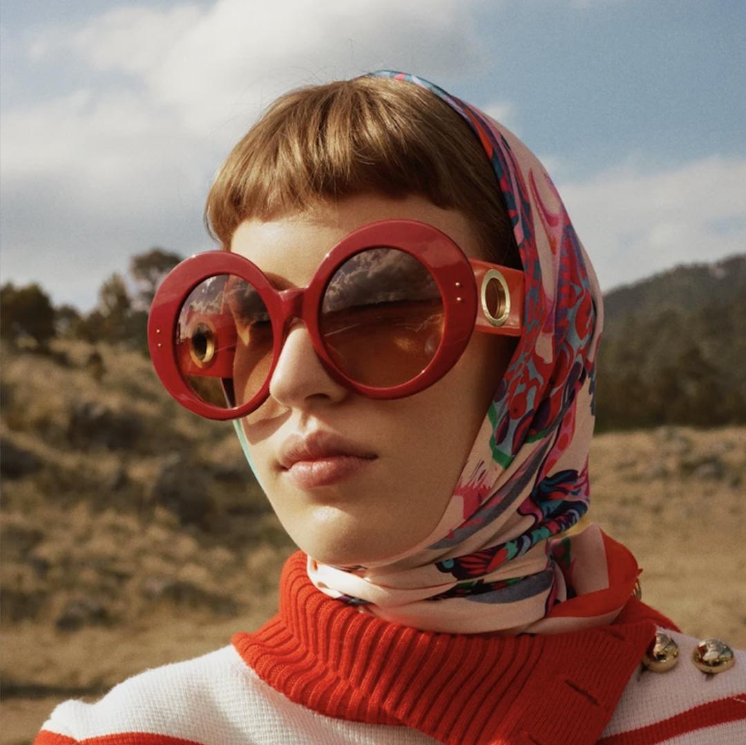 Linda Farrow X Paco Rabanne We Love Glasses 2021