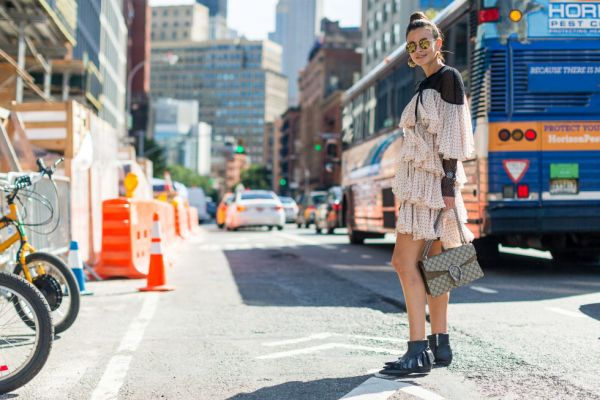 Street style Trend Eyewear Spotted at New York Fashion Week Glasses ss17