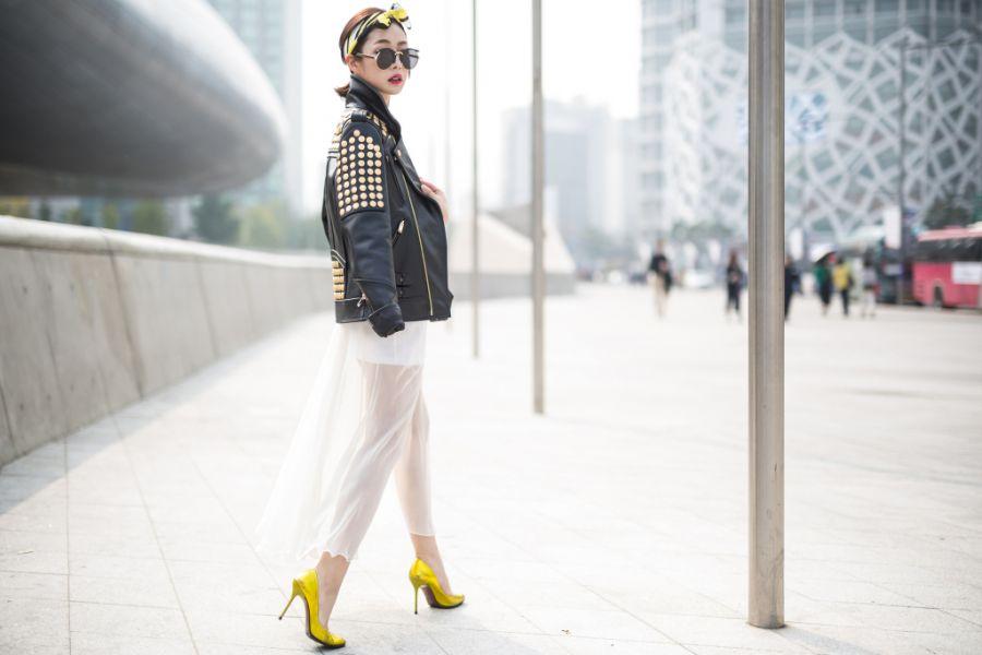 Seoul Fashion Week Street Style Glasses Eyewear Trend