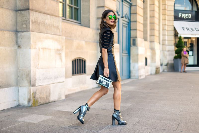 Best Eyewear Spotted at Paris Fashion Week 2017 Trend Glasses Sunglasses